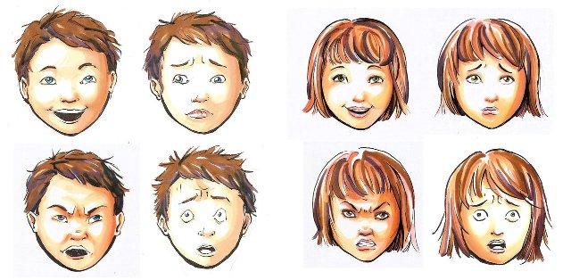 выражение лица при переговорах