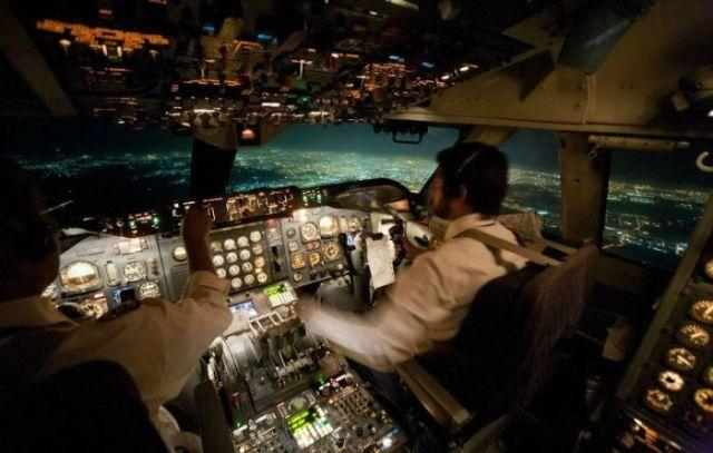 фото кабины самолета